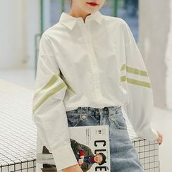 KOHKEI - 配色边衬衫