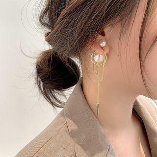 DREN - 仿珍珠耳坠