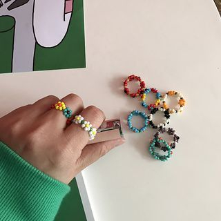Small Planet - Plastic Bead Ring