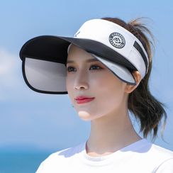 Kalamate - Sun Protection Wide Brim Visor Hat