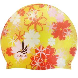 SANQI - Printed Swim Cap