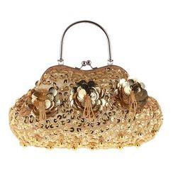 Moonflower(ムーンフラワー) - Sequined Handbag