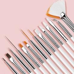 Padoma - Set of 15: Nail Art Brush & Tools