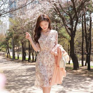 MyFiona - Floral A-Line Dress