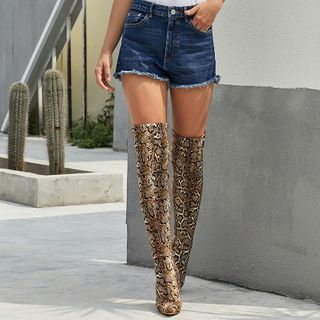 Monde - High Heel Over the Knee Boots