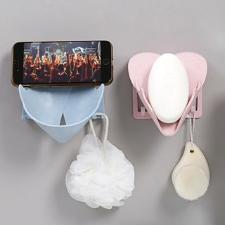 Home Simply - 肥皂塑膠黏牆收納架