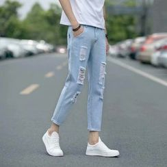 Acrius - Crop Slim Fit Jeans