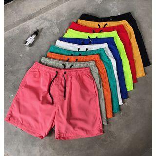 SuperLittle - 純色沙灘短褲