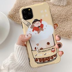 Aion - 奶茶续命11Pro/Max苹果X/XS/XR适用手机壳iPhone7p/8plus卡通女款