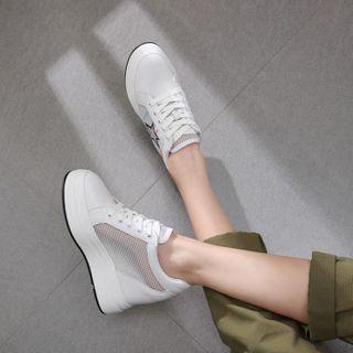 天姿 - 厚底内增高休閒鞋