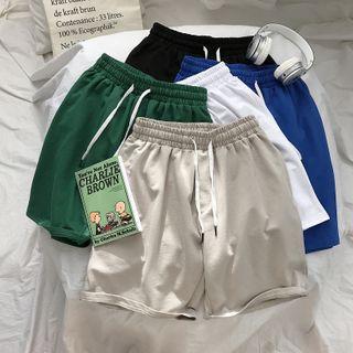 Bay Go Mall - Couple Matching Sweatshorts