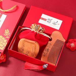 Cloud Forest - 中國風木製梳子套裝