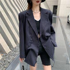 Magma - 细条纹西装外套