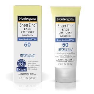 Neutrogena - Sheer Zinc Face Dry-Touch Sunscreen SPF 50