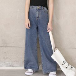 Chisy - Kids Wide-Leg Jeans