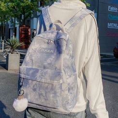 Novila - Tie-Dye Lettering Backpack