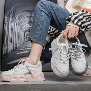 Yuki Yoru - 厚底休閒鞋