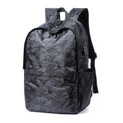 Endemica - Camo Print Zip Backpack