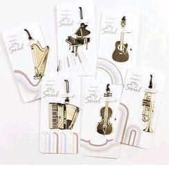Tivi Boutique - 金屬樂器書籤