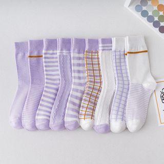Wolfhara - Patterned Socks