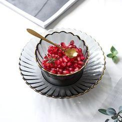 Beaucup - 金边玻璃碗