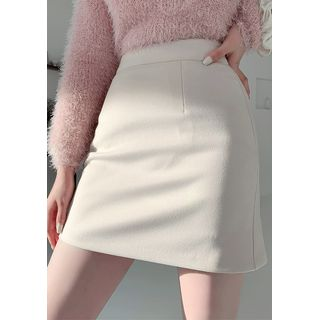 chuu - A-Line Mini Winter Skirt