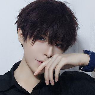 Aynu - 男士假髮 - 波浪