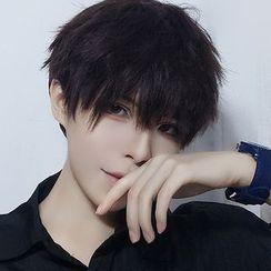 Aynu - 男士假发 - 波浪