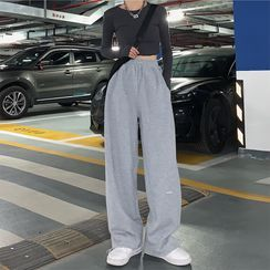 Yinyanna - Wide-Leg Sweatpants