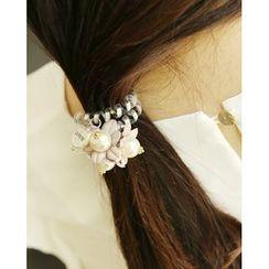Miss21 Korea - Corsage Phone Cord Hair Tie