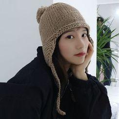 SPADAM - Knit Beanie with Ear Warmer