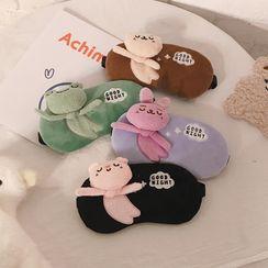 Chimi Chimi(チミチミ) - Animal Chenille Cooling Sleeping Eye Mask