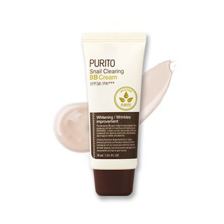 PURITO - Snail Clearing BB Cream SPF38 PA+++ #21 Light Beige 30ml