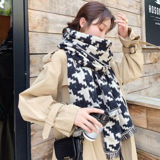 FROME - Reversible Patterned Scarf