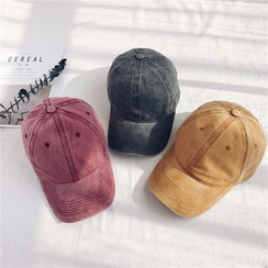 LANWO - Plain Denim Baseball Cap