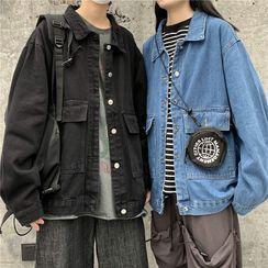 AXEN - Couple Matching Denim Jacket