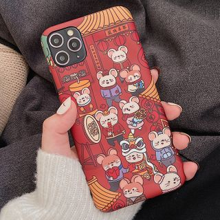 Primitivo - Chinese New Year Phone Case For iPhone 7 / 7 Plus / 8 / 8 Plus / X / XS / XR / 11 / 11 Pro / 11 Pro Max