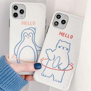 Primitivo - Cartoon Phone Case For iPhone 7 / 7 Plus / 8 / 8 Plus / X / XS / XR / 11 / 11 Pro / 11 Pro Max