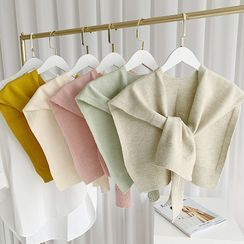 FEY TIY - Plain Knit Shawl