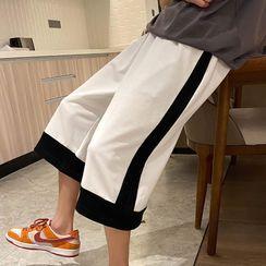 Crestion - 寬腿運動短褲
