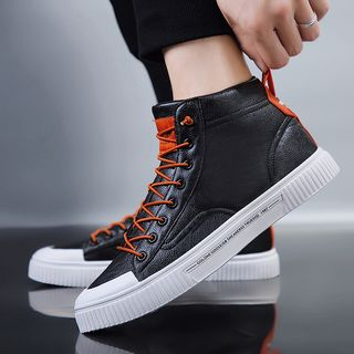 WeWolf - Lace-up Knit Sneakers