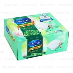 Unicharm - Cotons démaquillants hydratants Silcot (Green)