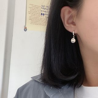 Fireflicka - Smile Drop Earring