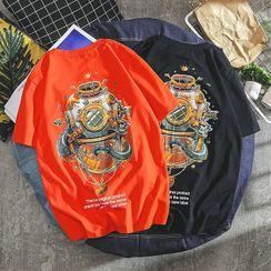 Sundit - Printed Short-Sleeve T-Shirt