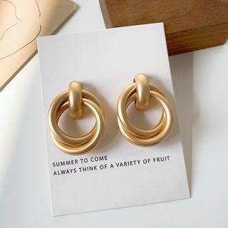 Admae - Metal Stud Earring