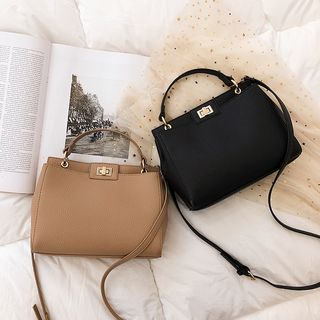 Sauledore - Faux Leather Shoulder Bag