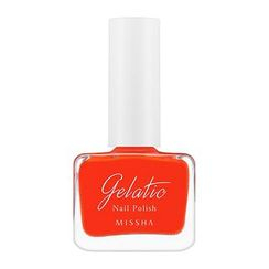 MISSHA - Gelatic Nail Polish (#OR04 Grapefruit Sherbet)