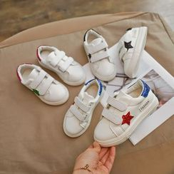 Luco - Kids Star Adhesive Strap Sneakers