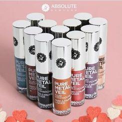 Absolute - Pure Metal Veil Fluid Eyeshadow (12 Colors), 1.5ml