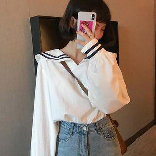 Astarte - 配色水手領襯衫
